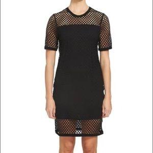 Mesh T-shirt Dress
